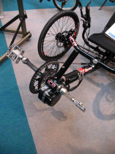 Photo of ICE Sprint trike with Sunstar iBike system installed