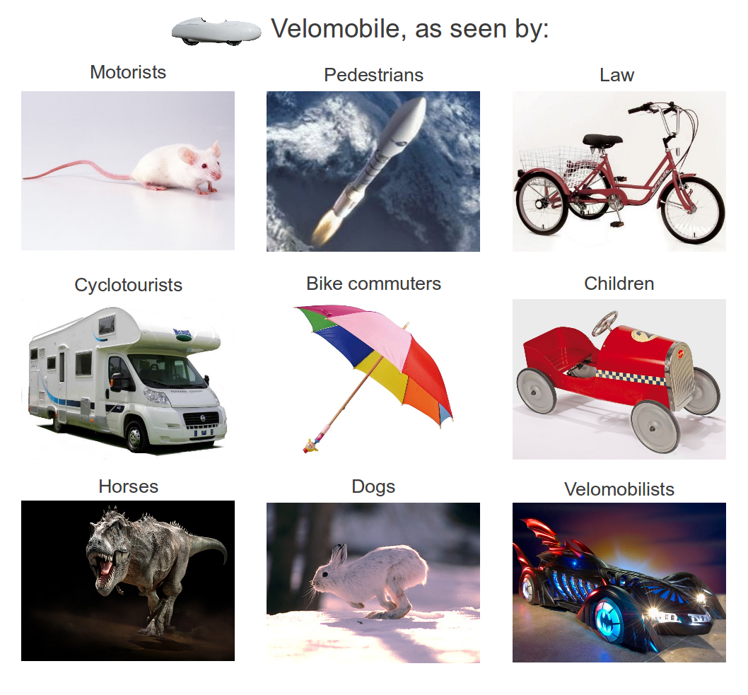 The Velomobile as seen by ...