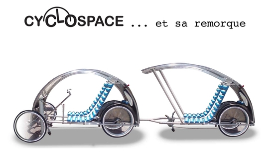 Profile of Cyclospace Trailer